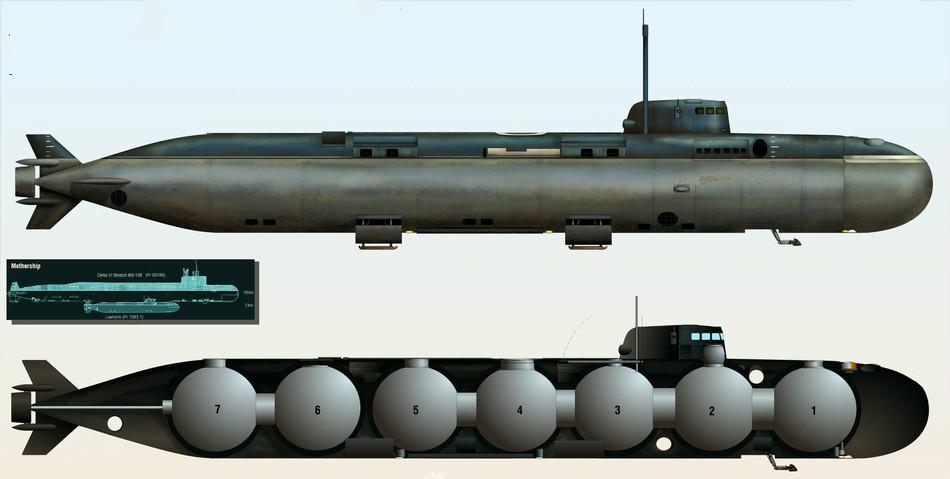 美海军最羡慕俄这款核潜艇,下潜深度6000米,性能遥遥领先!