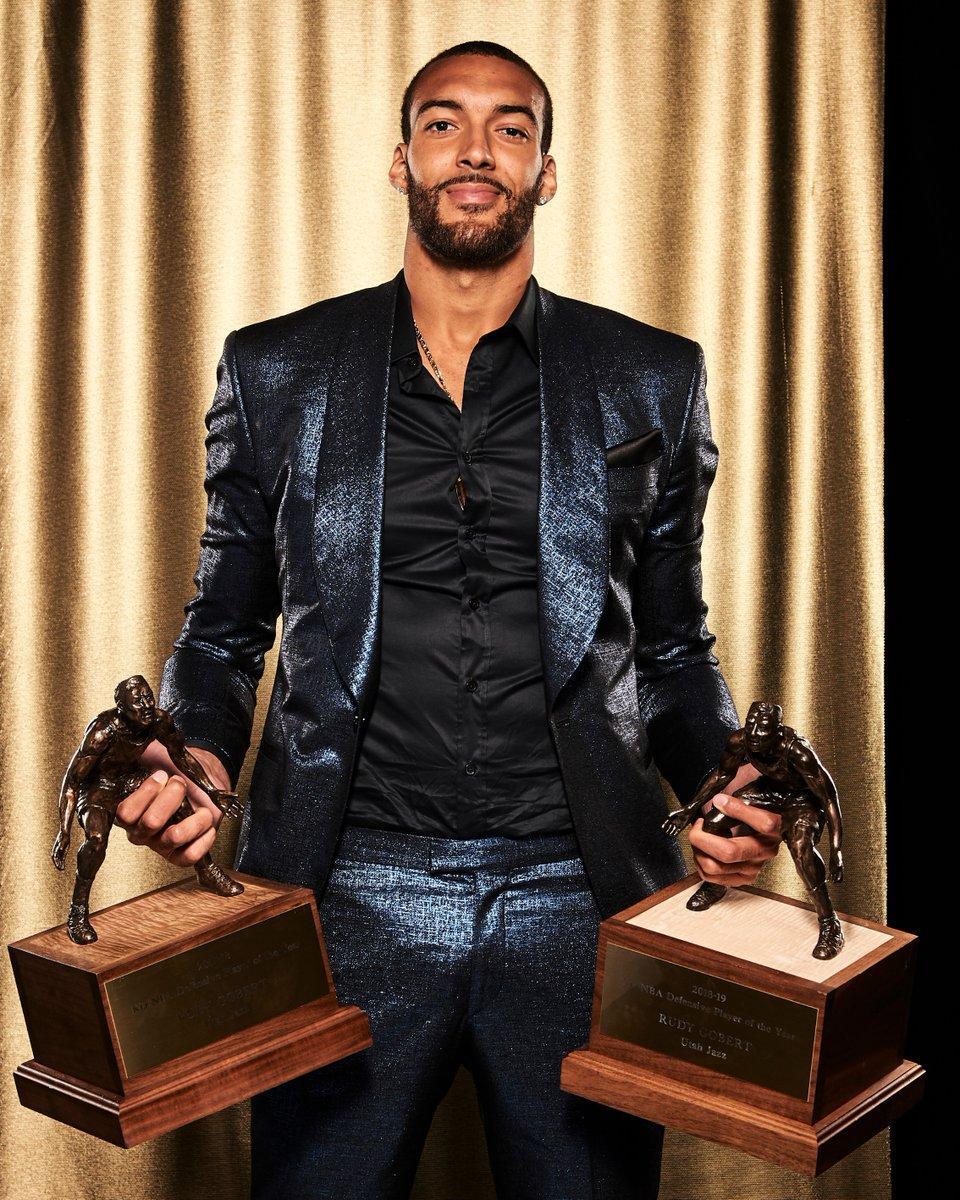 27顺位的戈伯特蝉联最佳防守球员 但NBA历史上还有落选秀如愿_赛季