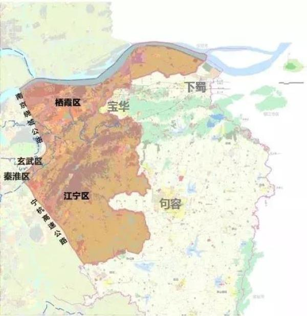南京紫东新区规划图