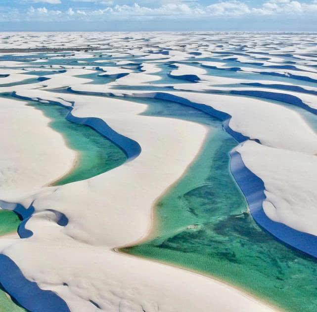 世界上最神奇的沙漠,鱼虾定期成群出现,却不知从哪里来