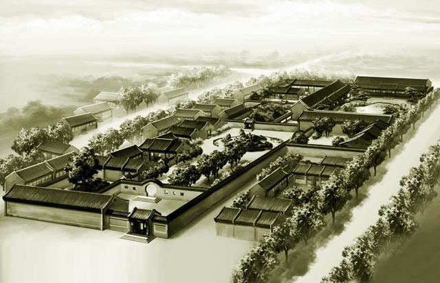 酒泉电厂平面图