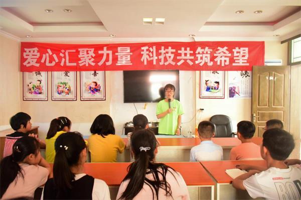 """淮师计科暑期""""三下乡"""":助力科技惠农,圆梦科技强国"""
