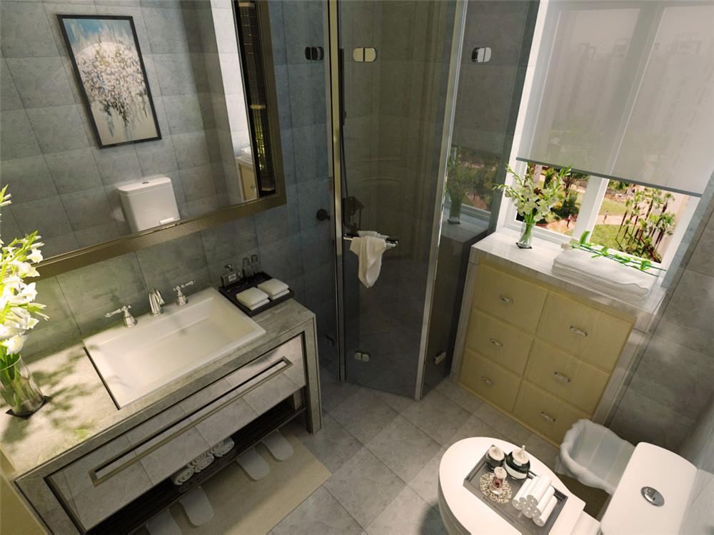 二,十年以上的老房子如何装修-卫生间选择浅色瓷砖