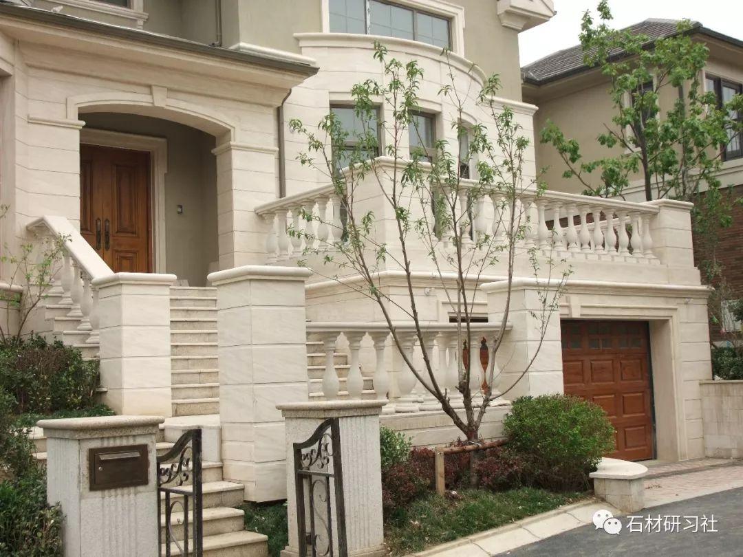 石材外墙 这样的独栋石材别墅才叫豪宅