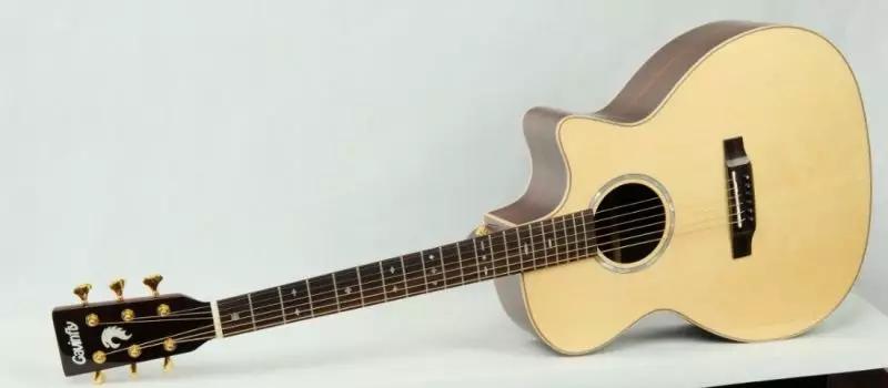 Gavinfly Garfley G12C:当云杉GA桶形单吉他时,音色细腻有质感