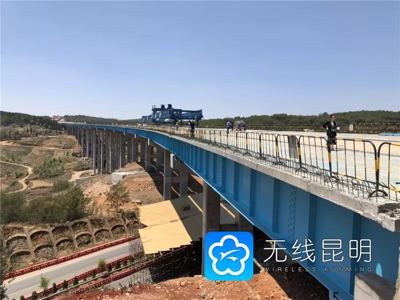 好消息!寻沾高速公路(昆明段)计划10月1日通车