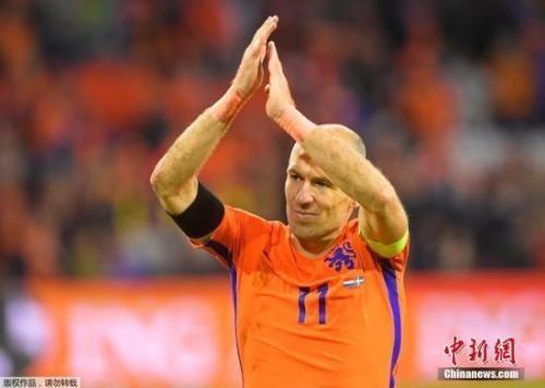 """35岁""""小飞侠""""再见!荷兰球星罗本正式宣布退役"""