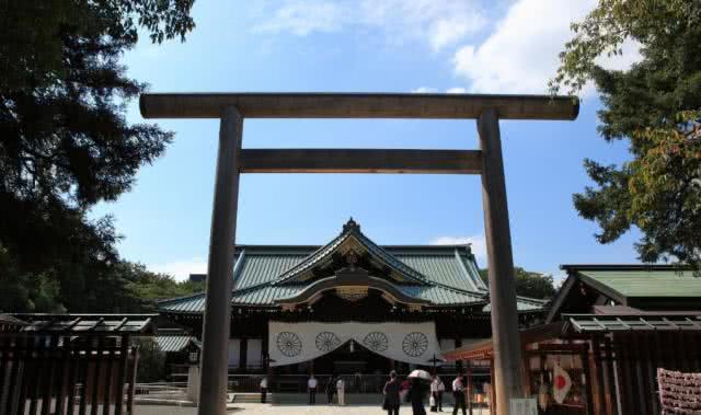 日本靖邦神社里为啥供奉着徐福、蒋介石、林净因?