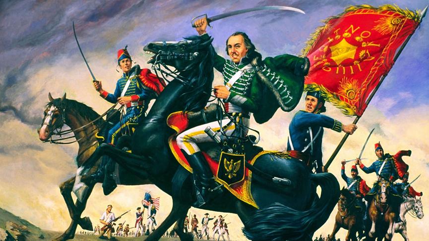 美国骑兵之父是阴阳人?这位著名独立战争英雄原来是美国版花木兰