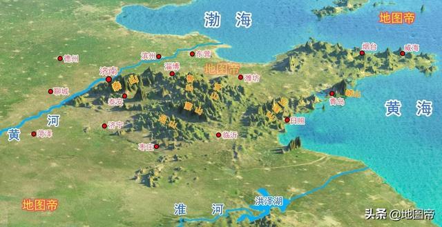 为何山东的省会却在济南?