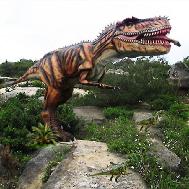 霸王龙并非最大肉食恐龙,这三种恐龙与其不相伯仲,有一种在我国_永川