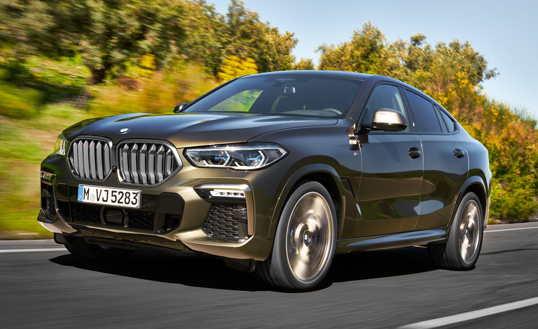 鼻孔不只大,还会亮 第三代BMW X6正式登场