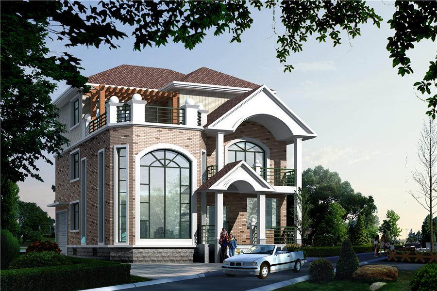 10x13农村自建房设计图