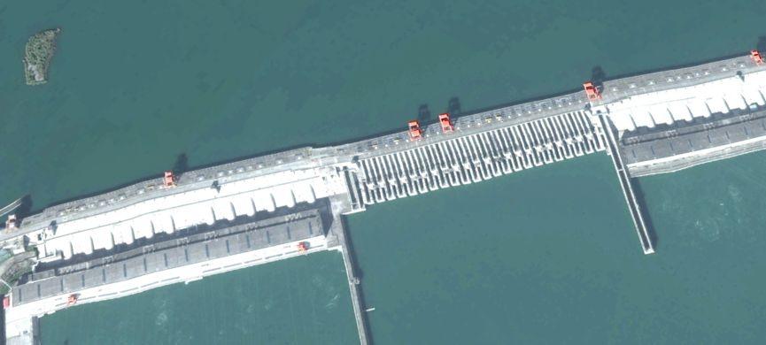 竟有人造谣三峡大坝已变形,航天科技高级辟谣