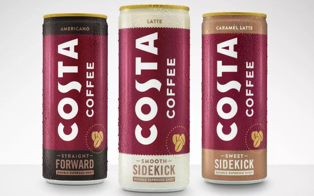 可口可乐和Costa合作推出罐装咖