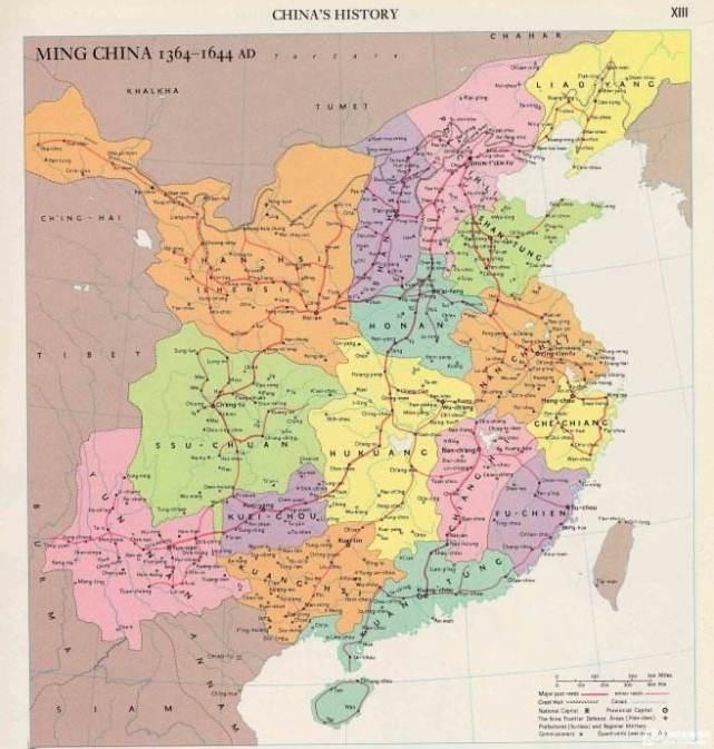 明朝的疆域版图,各版本相差巨大,到底孰是孰非图片