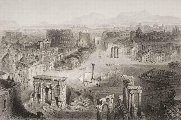 罗马是如何建成的