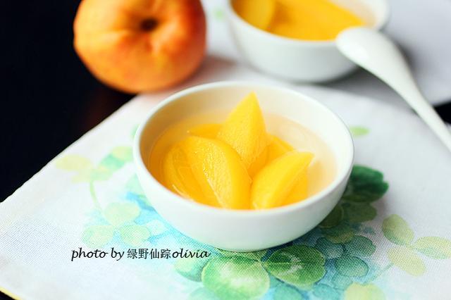 黄桃罐头超好吃做法,香甜柔软,汤汁顺滑!完全是小时候的味道!(图2)