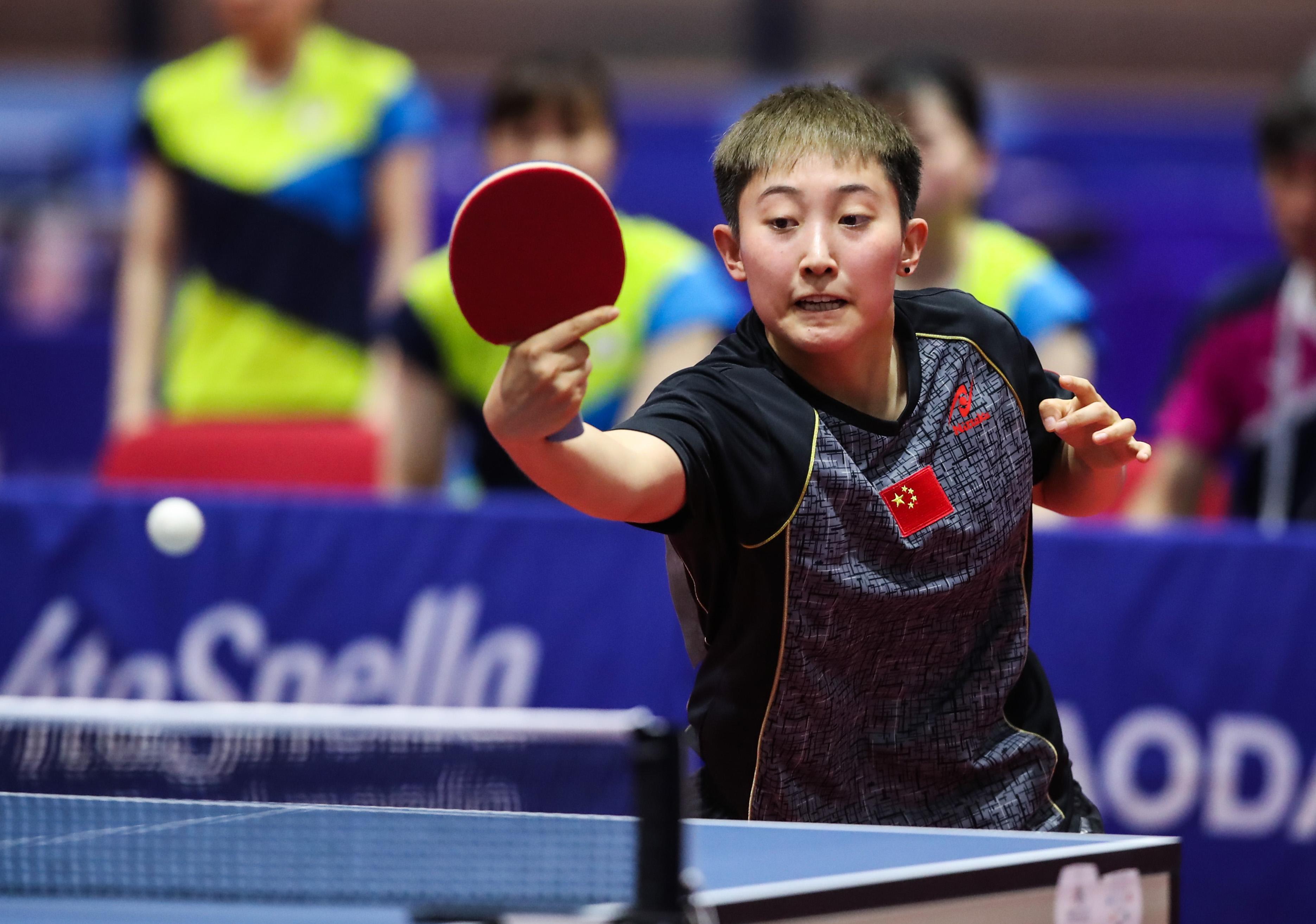 乒乓球——中国队夺得女团冠军