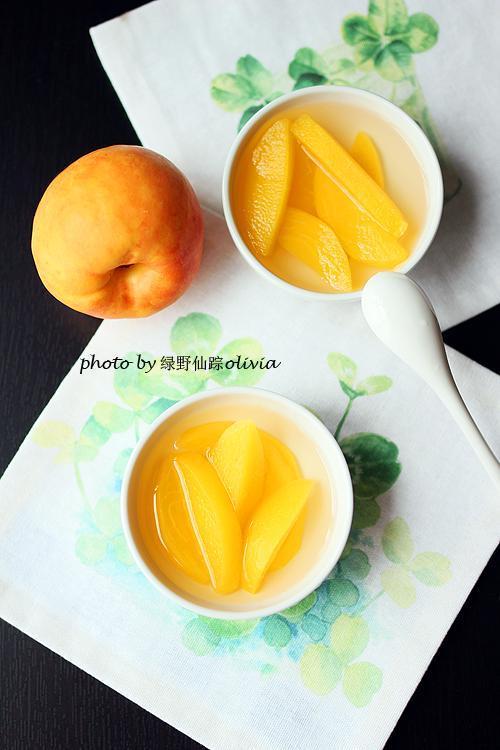 黄桃罐头超好吃做法,香甜柔软,汤汁顺滑!完全是小时候的味道!(图1)