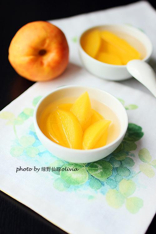 黄桃罐头超好吃做法,香甜柔软,汤汁顺滑!完全是小时候的味道!(图4)