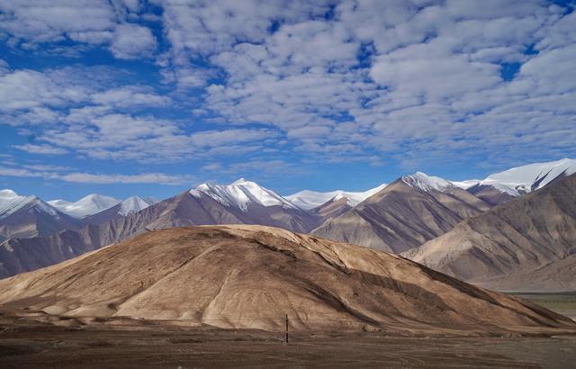 自驾新藏:三十里到日土,此生必驾219公路,看到的不是人间风景_西藏