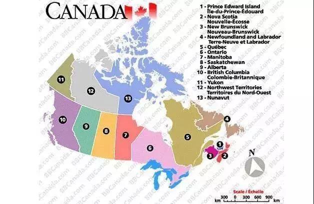 加拿大大学地理分布图,跟着地图找大学_网赚新闻网