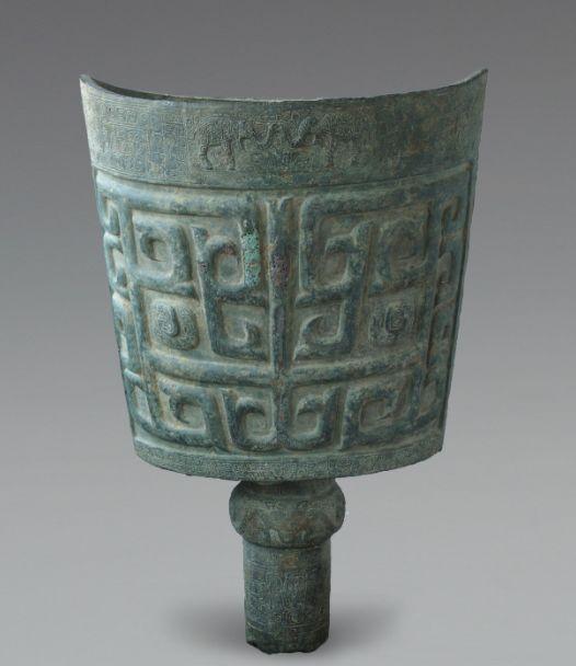 长沙博物馆镇馆之宝:商代象纹大铜铙