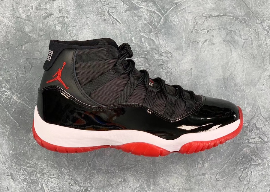 574bfab9f0575 Air Jordan 11 Bred 2019 378037-061 Release Date - Sneaker Bar Detroit