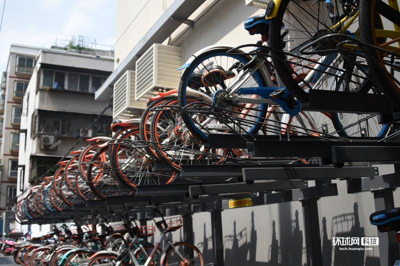 共享单车立体车库