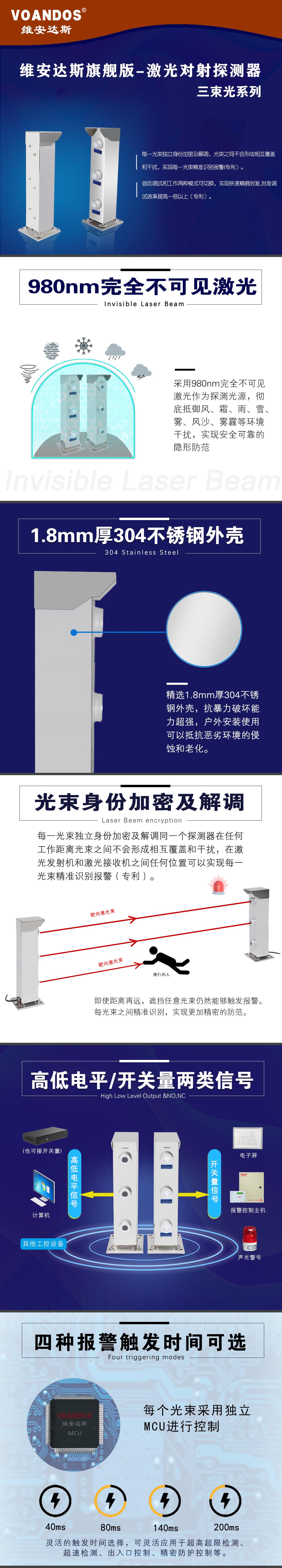 500xxxcom_广州市艾礼富电子-激光对射探测器(旗舰版) abj-xxx-3j