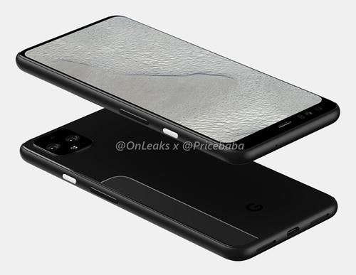 最新谷歌Pixel 4 XL渲染图曝光 这设计难道是由索尼代工?_配置