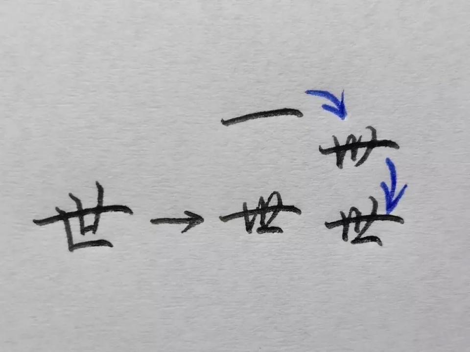 同样的字,为什么别人比我写字的速度快 硬笔书法纯干货分享 锋格练字