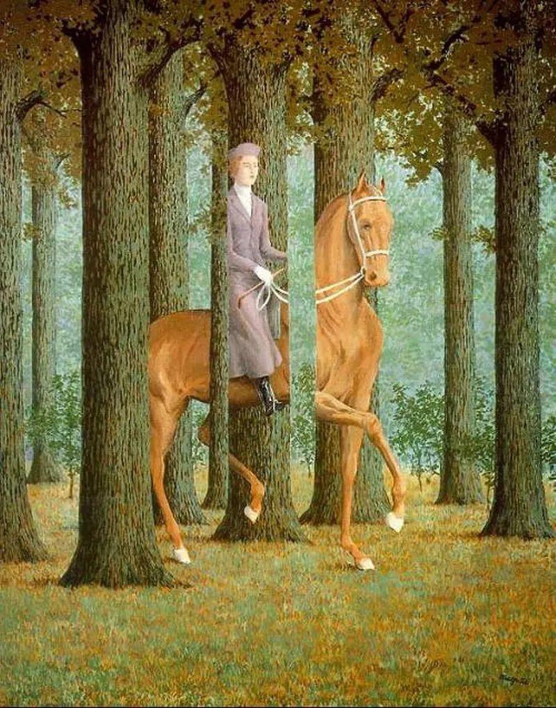 超现实主义画家 马格利特个展
