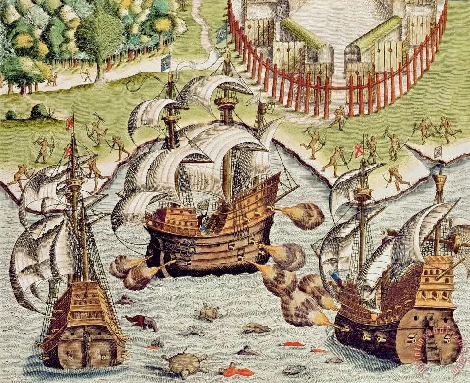 法兰西南极:大航海时代的法国殖民先驱与里约热内卢起源