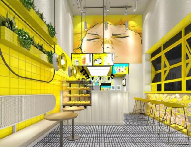 1柠1柠檬茶门店