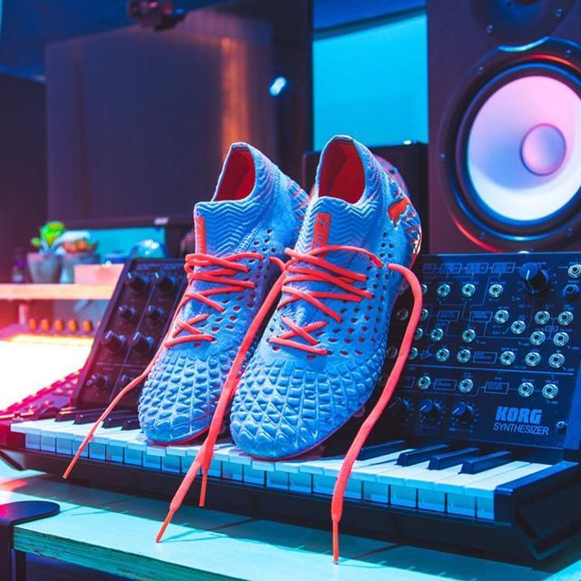 PUMA future 4.1与Adidas X 19.1鞋面对比