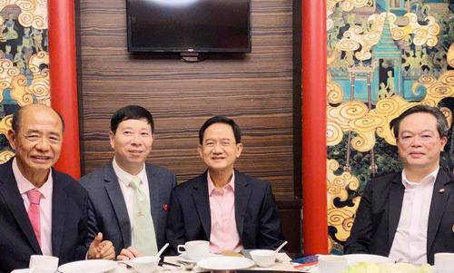 社会活动家刘瀚锴先生率团赴泰国进行艺术交流