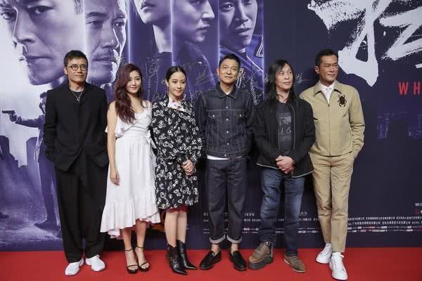 《扫毒2》票房1天涨1亿,刘德华和古天乐当面感谢粉丝的支持