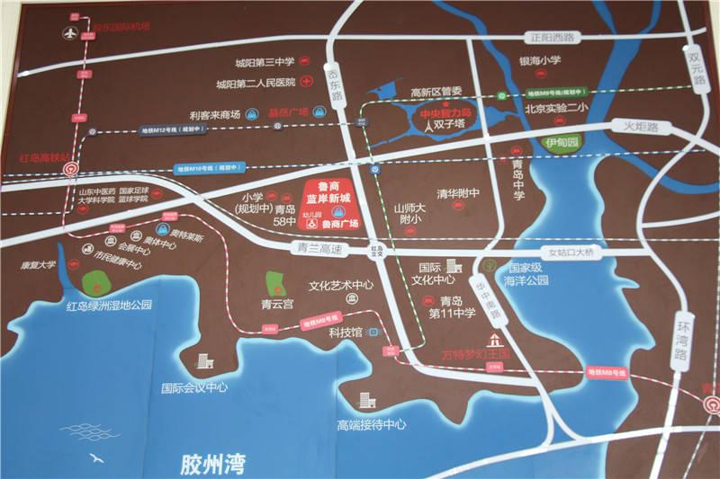 青岛河套最新规划图