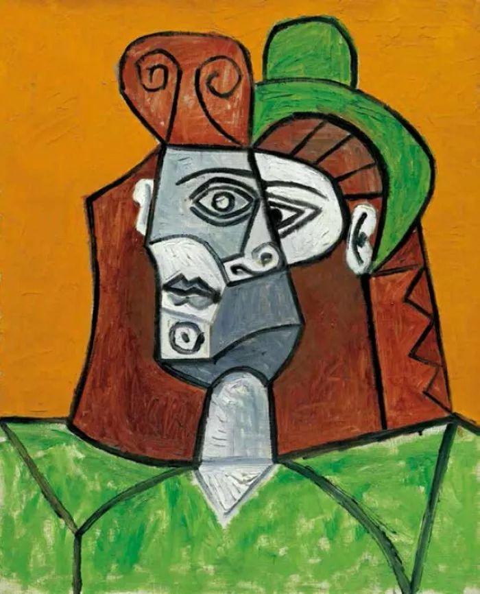 历史 正文  童心未泯毕加索 绘画风格最多变的毕加索思维最活跃,他图片