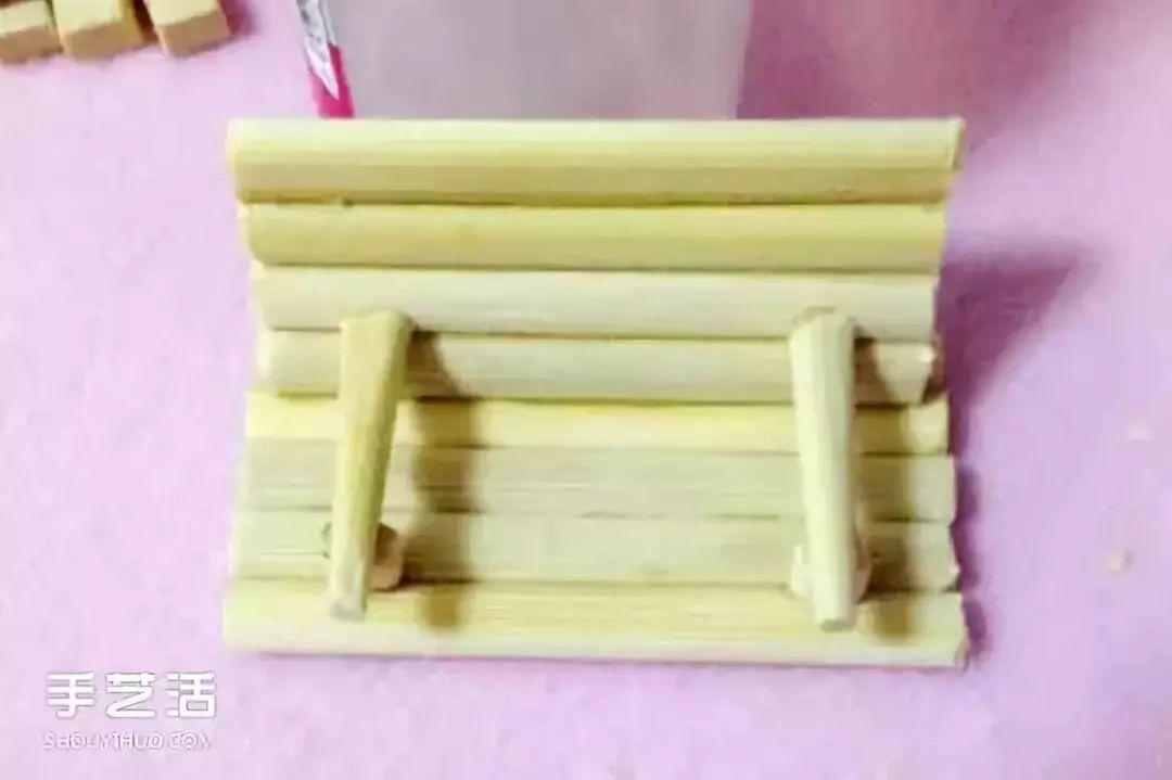用筷子做成的工艺品_【幼师手工】一次性筷子别扔掉,做手工美美哒_木棍