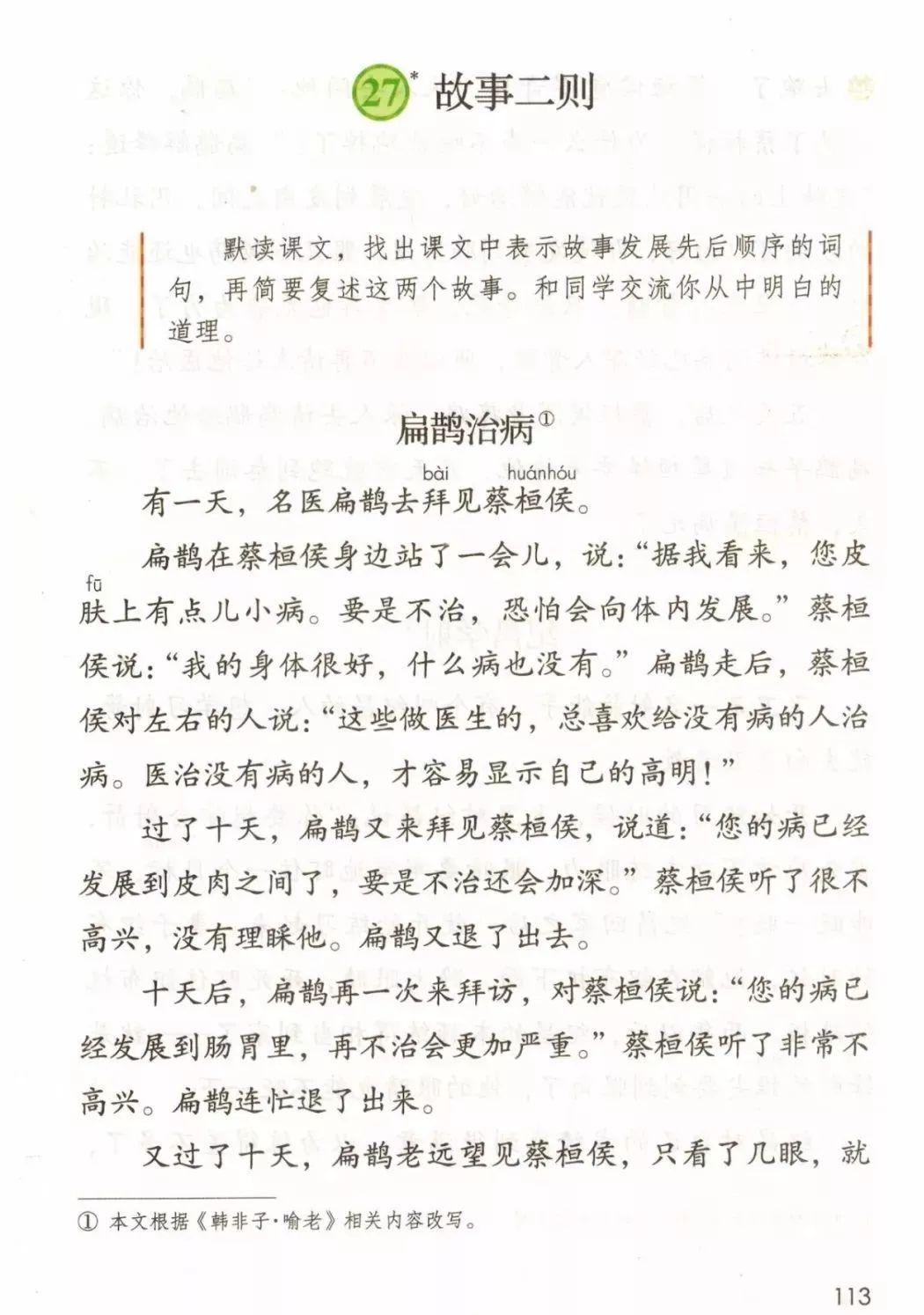 扁鹊治病(第118页)
