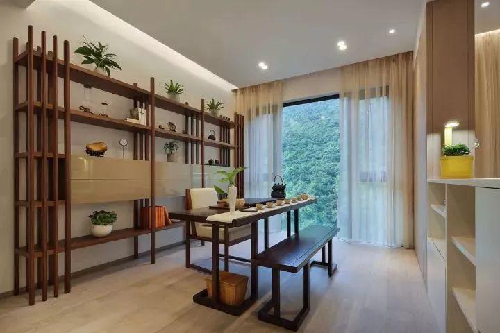 现代新中式风格装修,装修后像别墅一样,非常有古风的感觉