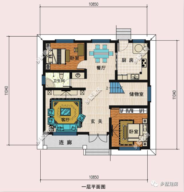 住宅连廊设计平面图