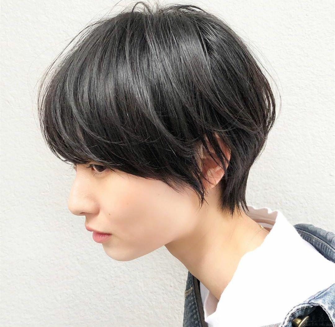 女生露耳朵的短发发型 露耳朵短发这样扎最好看_... _西子美发网