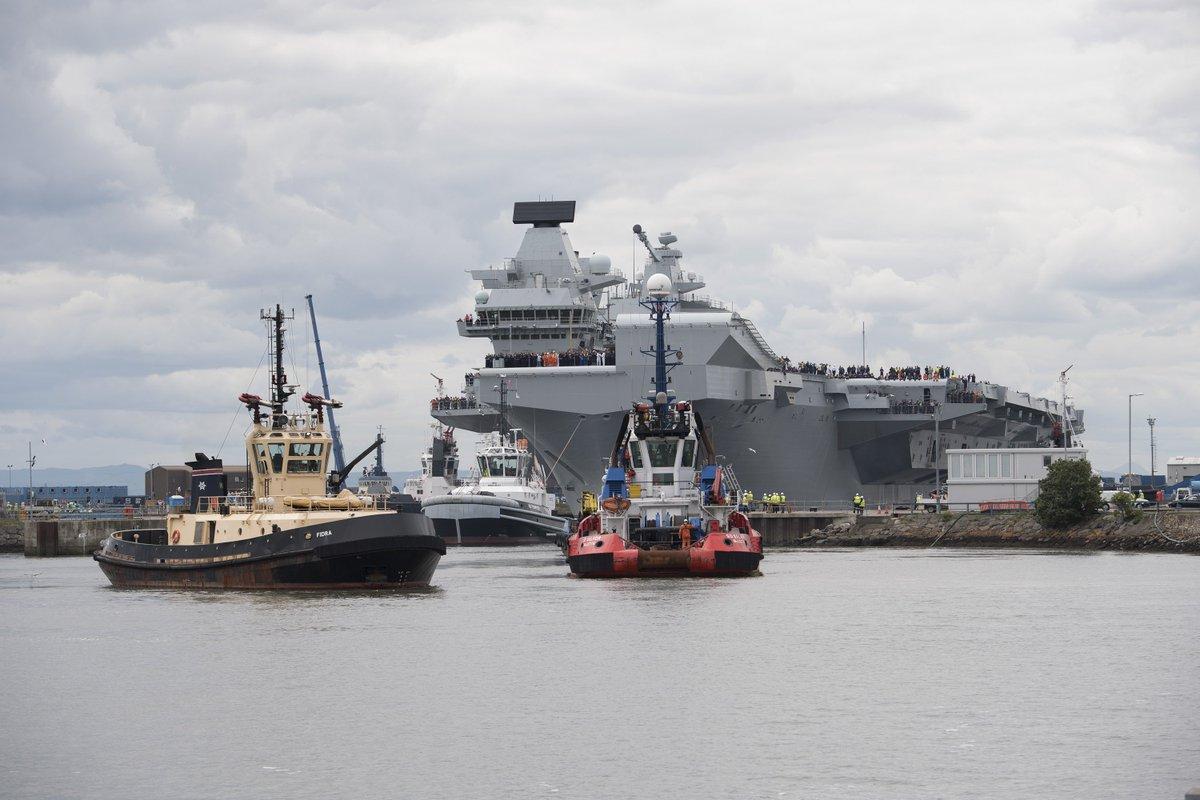 英国新航母又漏水了