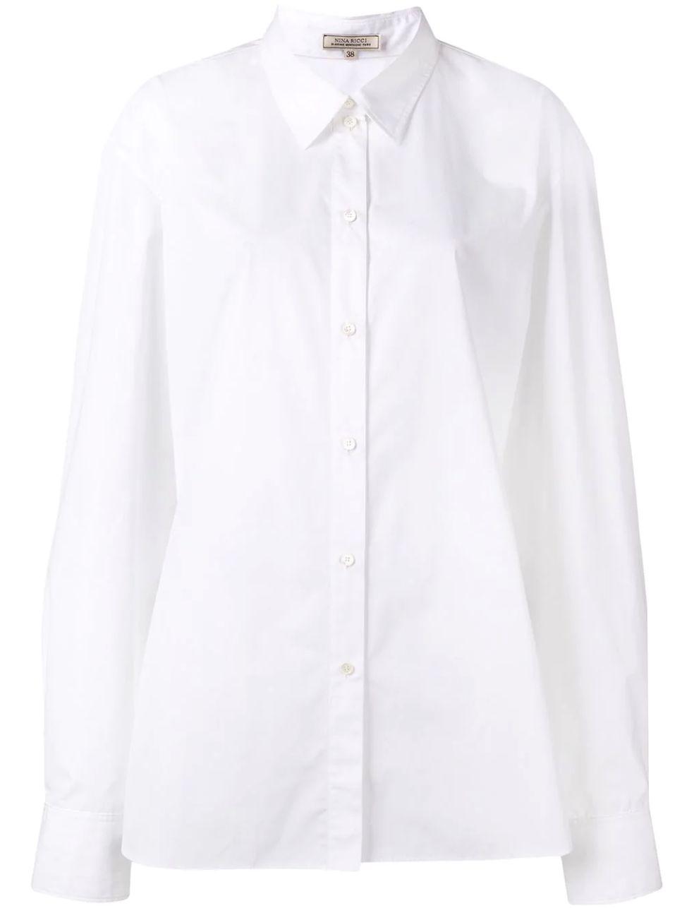 想要时髦?衬衫还是大点好! v118.com