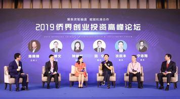 盘石参加2019侨界创业投资高峰论坛