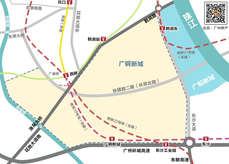 2018广纸新城规划图